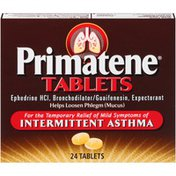 Primatene Asthma Relief Tablets