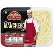 Los Altos  Queso Manchego Rallado, Whole Milk Natural Mexican Cheese