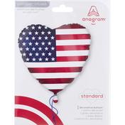 Anagram Decorative Balloon, Standard, 18 Inch