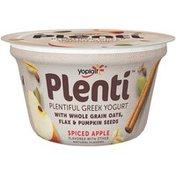Yoplait Plenti Greek Spiced Apple Low Fat Yogurt