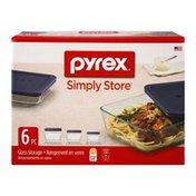 Pyrex Simply Store Glass Storage - 6 PC