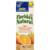Florida's Natural 100% Premium Florida Orange Juice Calcium & Vitamin D Some Pulp