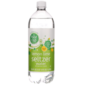 Food Club Lemon Lime Seltzer Water