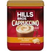 Hills Bros. White Chocolate Caramel Cappuccino Café Style Drink Mix