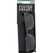 Foster Grants Glasses Chip w/ Case +1.50