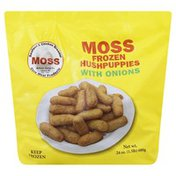 Moss Hush Puppies, Frozen, with Onions