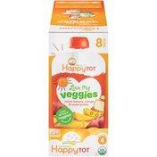 Happy Tot Organics Love My Veggies Spinach, Apple, Sweet Potato & Kiwi Veggie & Fruit Blend