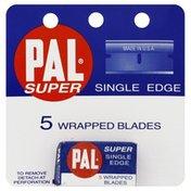 Pal Single Edge Wrapped Blades