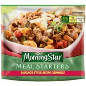 Morning Star Farms Meal Starters Sausage-Style Recipe Crumbles Veggie Crumbles