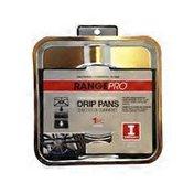 Range Pro Drip Pans, Gas Range, Chrome