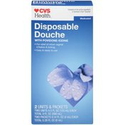 CVS Pharmacy Medicated with Povidone-Iodine Disposable Douche