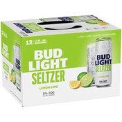 Bud Light Hard Seltzer Lemon Lime, Cans