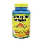 Nature's Life Cal Mag Zinc Complex