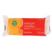 Food Club Medium Cheddar Cheese