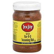 Tex Joy Seasoning Rub, Special Bar-B-Q