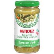 Herdez Tomatillo Verde Mexican Cooking Sauce