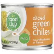 Food Club Mild Diced Green Chiles