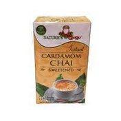 Nature's Guru Instant Cardamom Chai Powder Packets