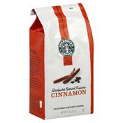 Starbucks Coffee, Ground, Flavored, Cinnamon