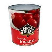 First Street Whole Peeled Tomatoes In Tomato Juice