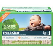 Seventh Generation Diaper Spring Jumbo Stage 1