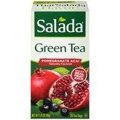 Salada Pomegranate Acai Green Tea Bags