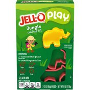 Jell-O Jungle Cutters Kit with Lemon Gelatin Mix
