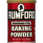 Rumford Baking Powder, Aluminum-Free