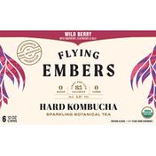 Flying Embers Hard Kombucha, Wild Berry