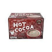 Choceur Milk Chocolate Hot Cocoa Cups