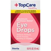 TopCare Maximum Redness Relief Sterile Eye Drops