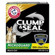 Arm & Hammer Clump & Seal Microguard Fresh Scent Odor Sealing Litter