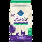 Blue Basics Grain Free Turkey Adult Dog Food