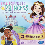 Hasbro The Classic Jewelry Dress-Up Game, Pretty Pretty Princess, 5+
