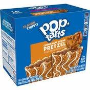 Kellogg's Pop-Tarts Pretzel Toaster Pastries, Breakfast Foods, Cinnamon Sugar Drizzle