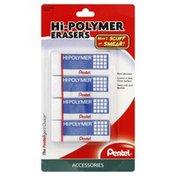 Pentel Erasers, Hi-Polymer