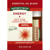 Nature's Truth Essential Oil Blend, Energy, On the Go Roll-On