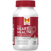 Meta Biotic Heart Health Meta Daily Heart Health Capsules Dietary Supplement 160ct Laxative
