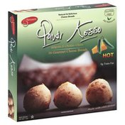 Pondi Kesso Cheese Breads, Gourmet, Jalapeno & Cheddar Cheese, Hot