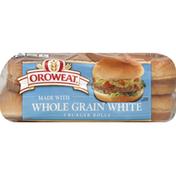 Brownberry/Arnold/Oroweat Burger Rolls, Whole Grain White