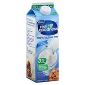 Real Goodness Milk, Fat Free, Lactose Free, 0% Milkfat