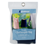 Whitmor Hanging Clothespin Bag 11 x 13 in