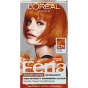 Feria Haircolour Gel, Permanent, Intense Copper C74