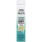 Garnier Fructis Dry Shampoo, Beach Tonic, Invisible, Texturizing