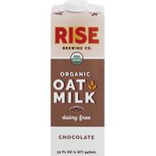 Rise Brewing Co. Oat Milk, Organic, Dairy Free, Chocolate