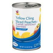SB Yellow Cling Sliced Peaches in Water