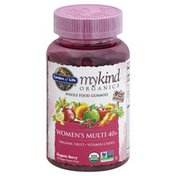 Garden of Life Women's Multi 40+, Vegan Gummy Drops, Organic Berry