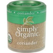Simply Organic Certified Organic Coriander