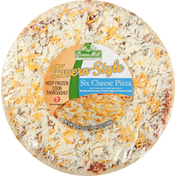 Green Mill Restaurant Pizza, Six Cheese, Favern-Style