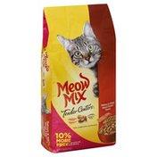 Meow Mix Cat Food, Salmon & White Meat Chicken Flavors, Tender Centers, Bonus, Bag